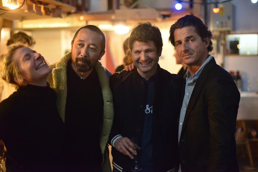 Claude Serieux, Guillaume Petavy, Thomas Erber