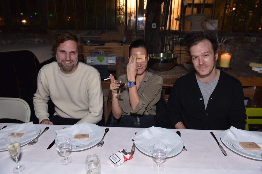 Lars Krueger, Elina Kechicheva, Adrien Messié